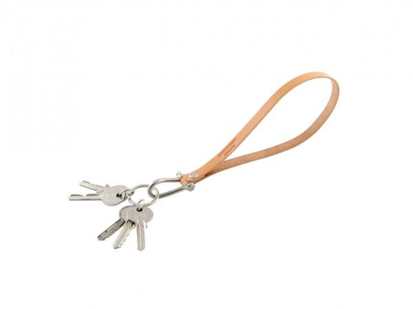 Nr. 052-N Leder Schlüsselband, Natur
