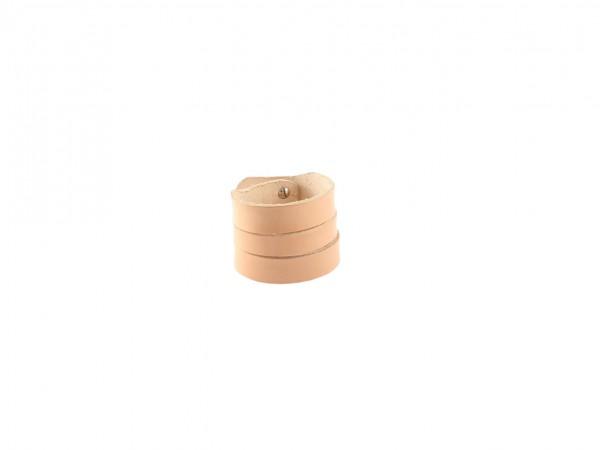 Nr. 045-N Leder Armband, Natur