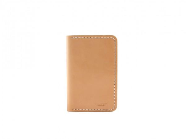Nr. 041-N Leder Portemonnaie Groß, Natur
