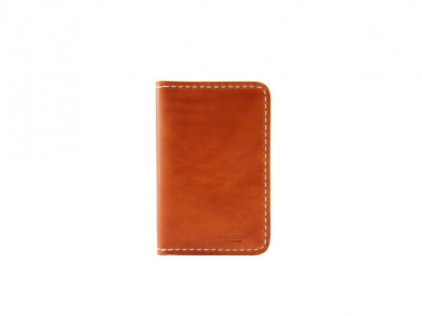 Nr. 041-C Leder Portemonnaie Groß, Cognac