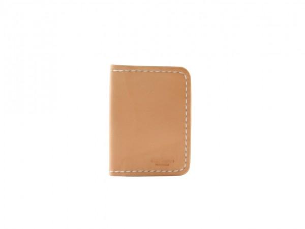 Nr. 037-N Leder Brieftasche, Natur