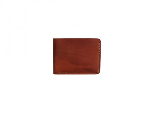 Nr. 096-B Leder Portemonnaie, Braun